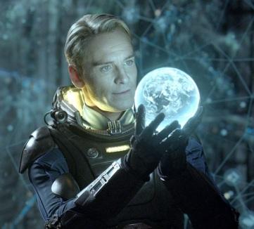 Prometheus- Michael Fassbender