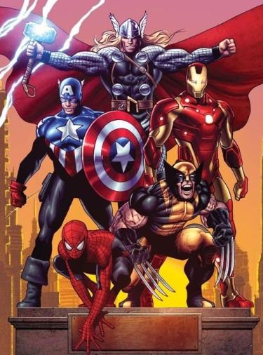Avengers SpiderMan poster
