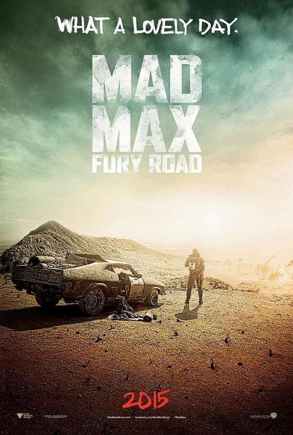 mad mad fury road- poster