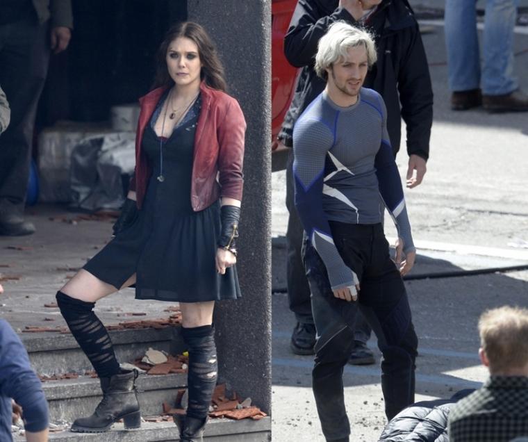Scarlet Witch y Quicksilver