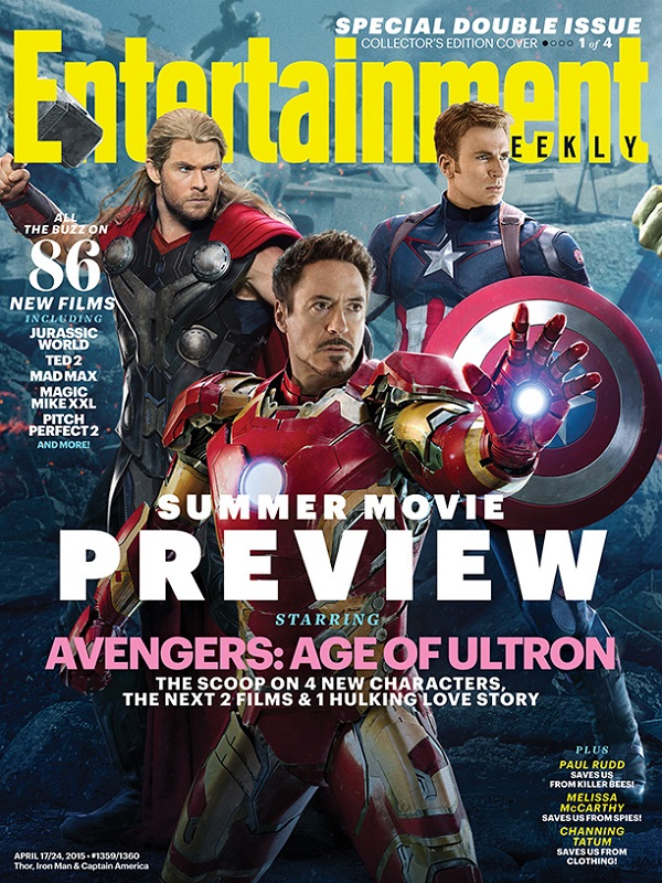 Avenger: Age of Ultron - Iron Man, Thor y Captain America
