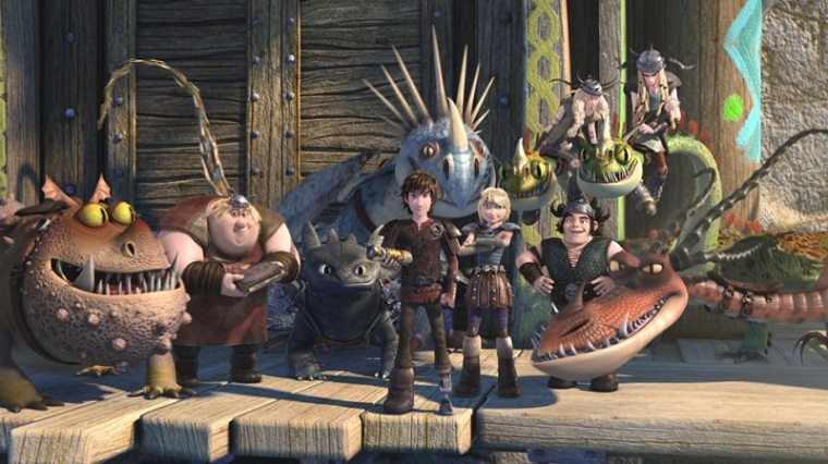 Dragons Race to the Edge- How to train your dragon pic