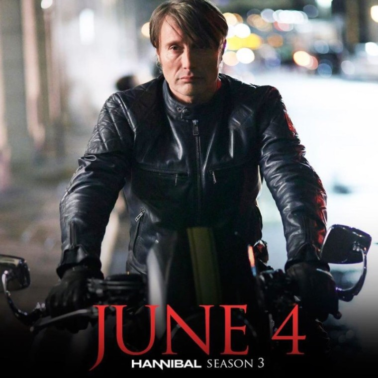 Mads Mikkelsen - Hannibal Poster