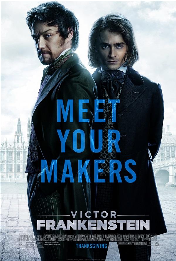 victor frankenstein - movie poster